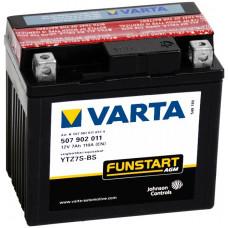 Мото аккумулятор Varta Agm Funstart YTZ7S-4 YTZ7S-BS 507902011 A514